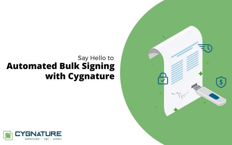 Automated Bulk Signing
