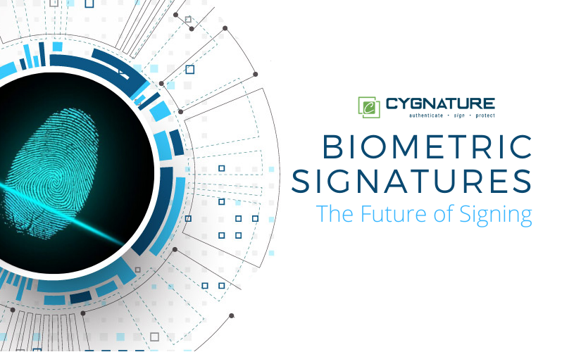Biometric Signatures- The Future of Signing